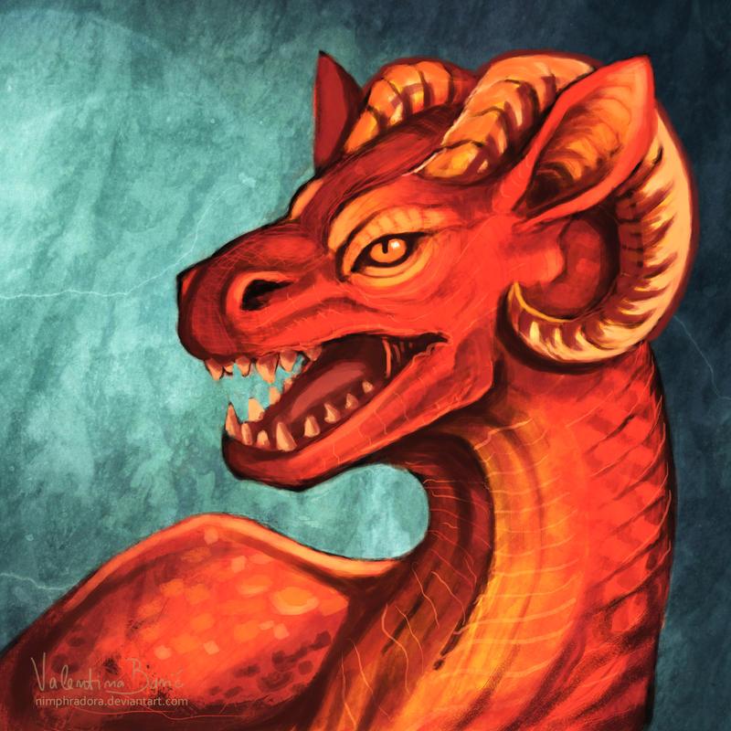 10.31. dragon (comm) by Nimphradora