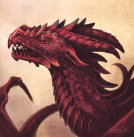 Dragon speedpaint by Nimphradora