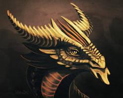 Desert dragon + video by Nimphradora