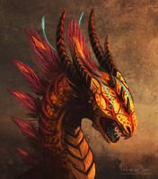 Jungle dragon + video by Nimphradora