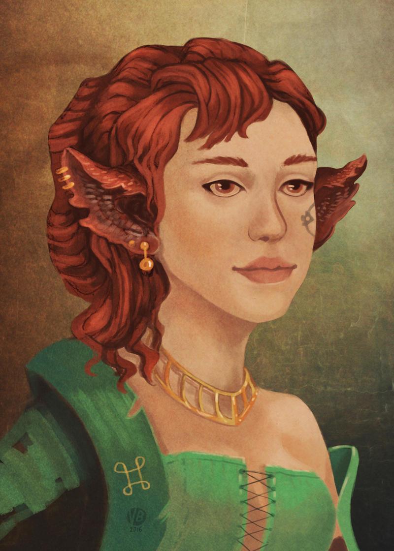 Alessia by Nimphradora