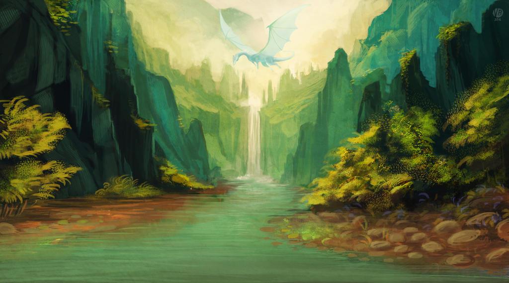 Green canyon by Nimphradora