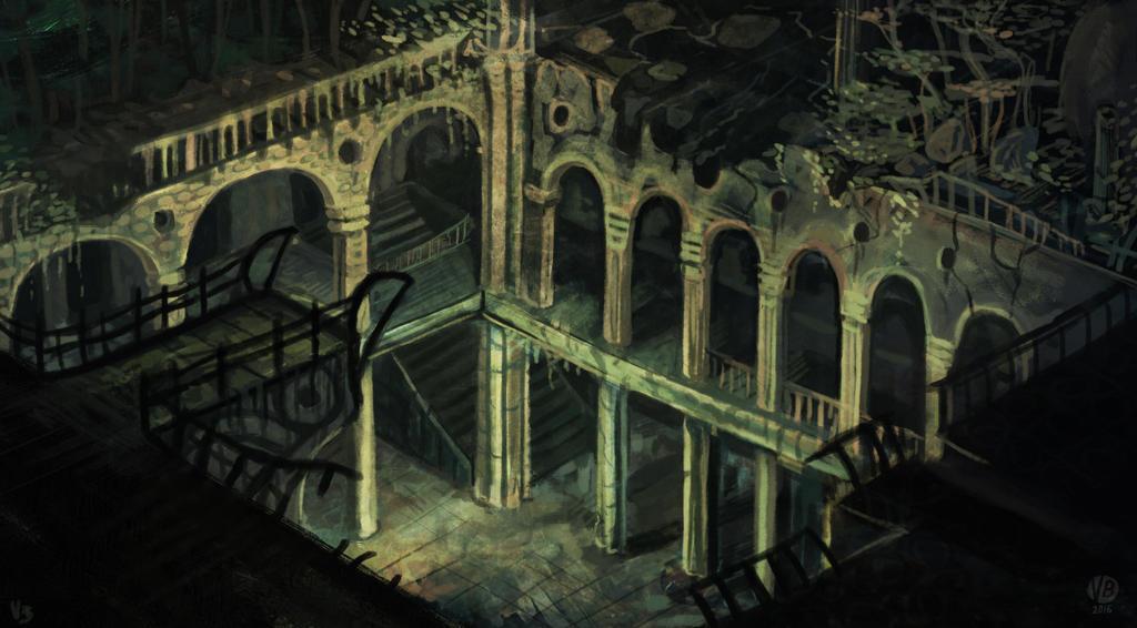 Environment concept by Nimphradora