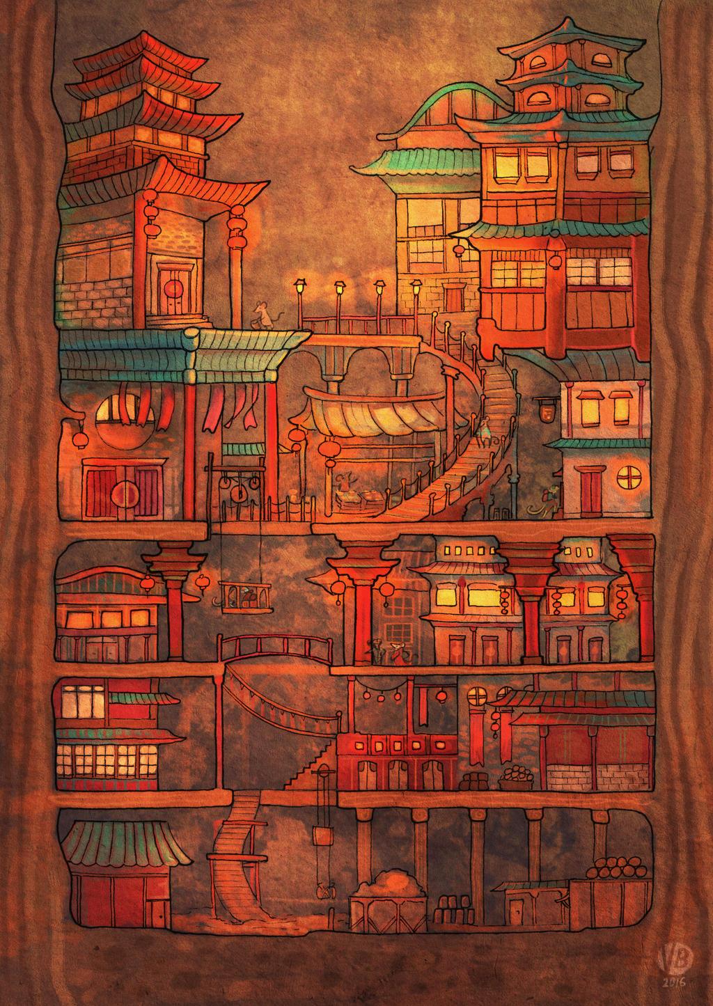 Tiny town by Nimphradora