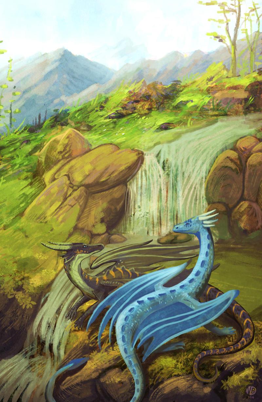 Waterfall by Nimphradora