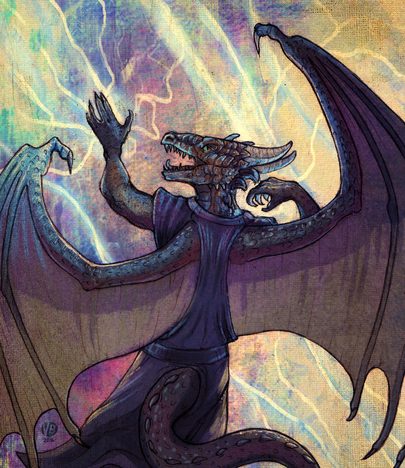 Caldraken by Nimphradora