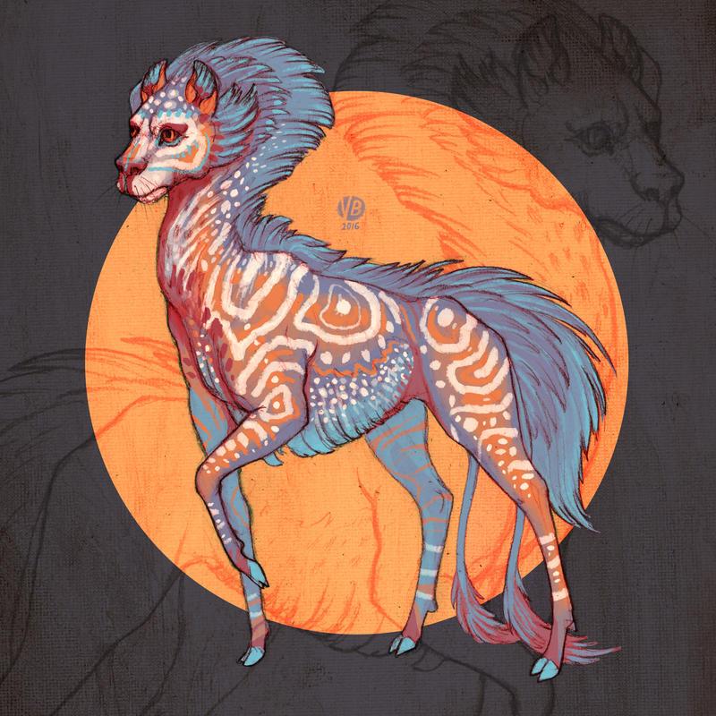 0710 creature design by Nimphradora