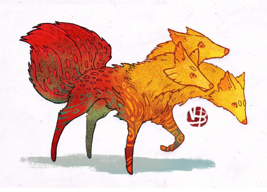 Fox critter design + base by Nimphradora