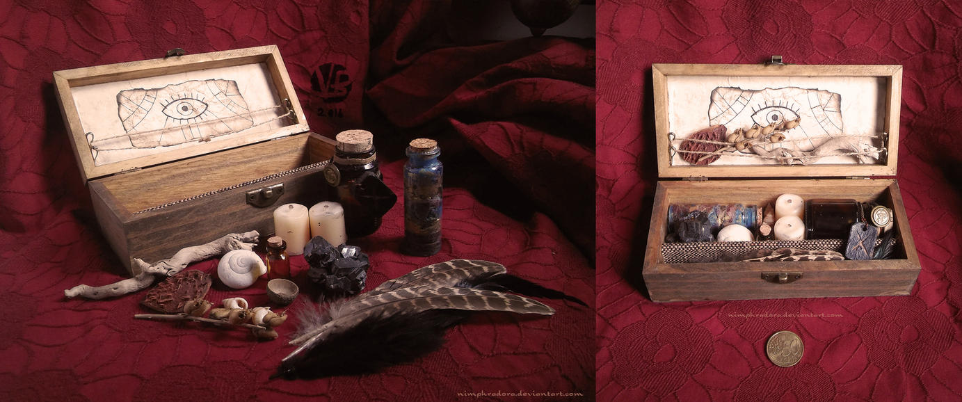 Witch's Chest I by Nimphradora