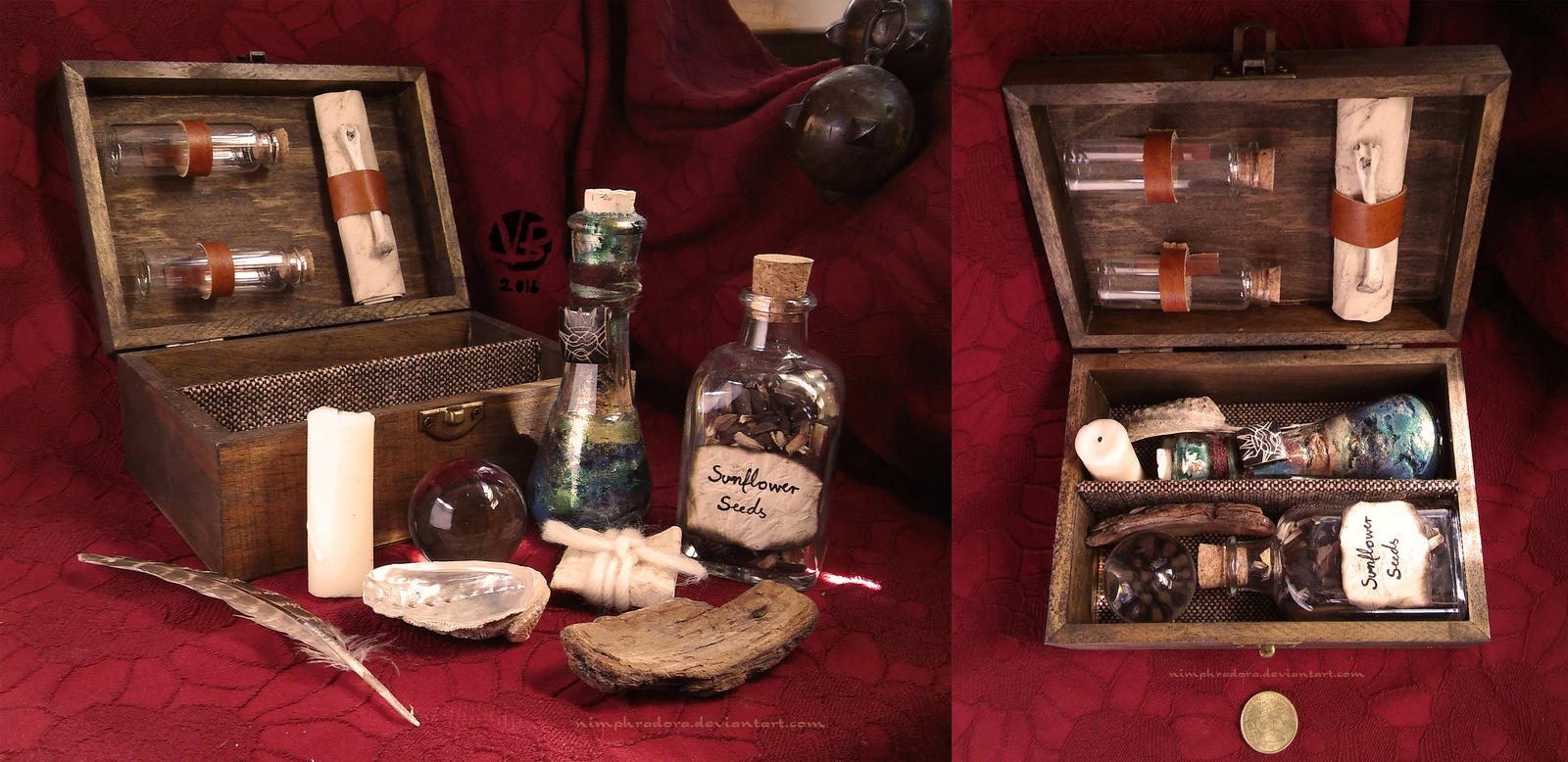 Witch's Chest II by Nimphradora