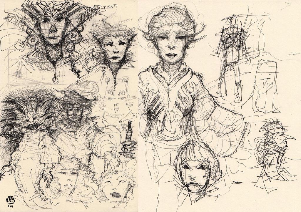 Some random sketches by Nimphradora