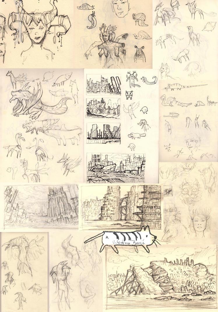 Sketches June/July by Nimphradora