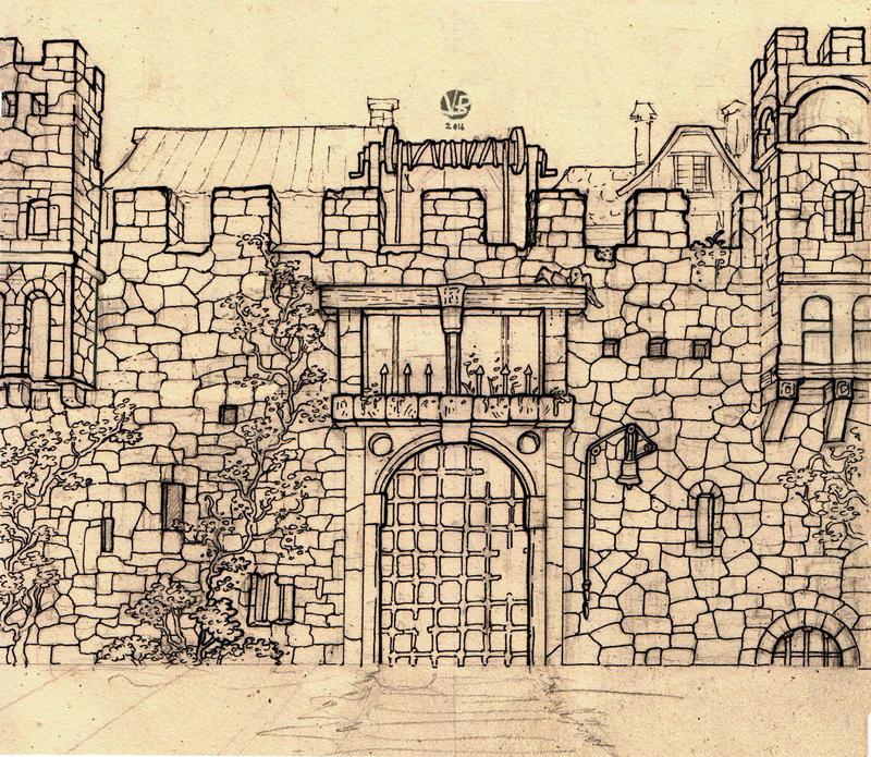 City Gates by Nimphradora