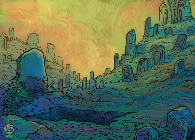 Graveyard by Nimphradora