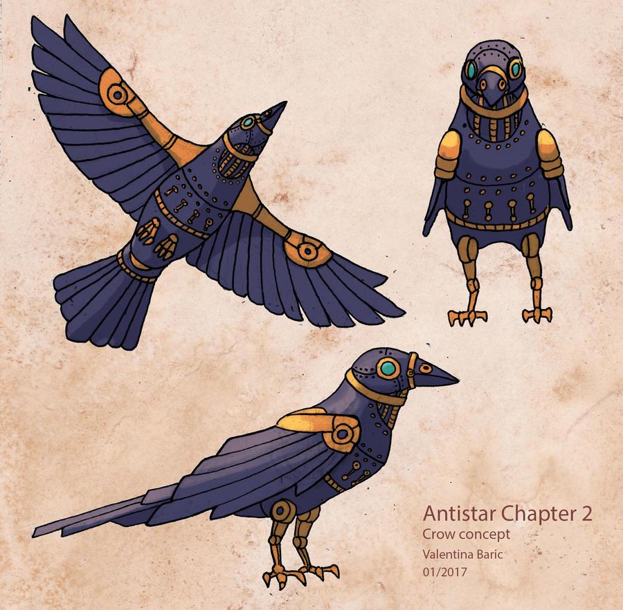 Antistar - Crow concept by Nimphradora