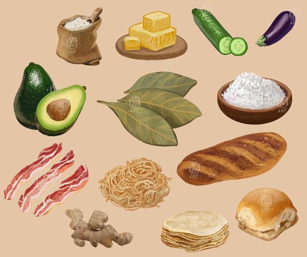 More cooking ingredients by Nimphradora