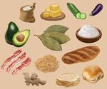 More cooking ingredients