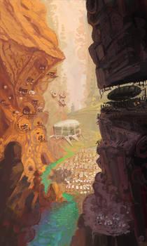 Ruin: hidden army