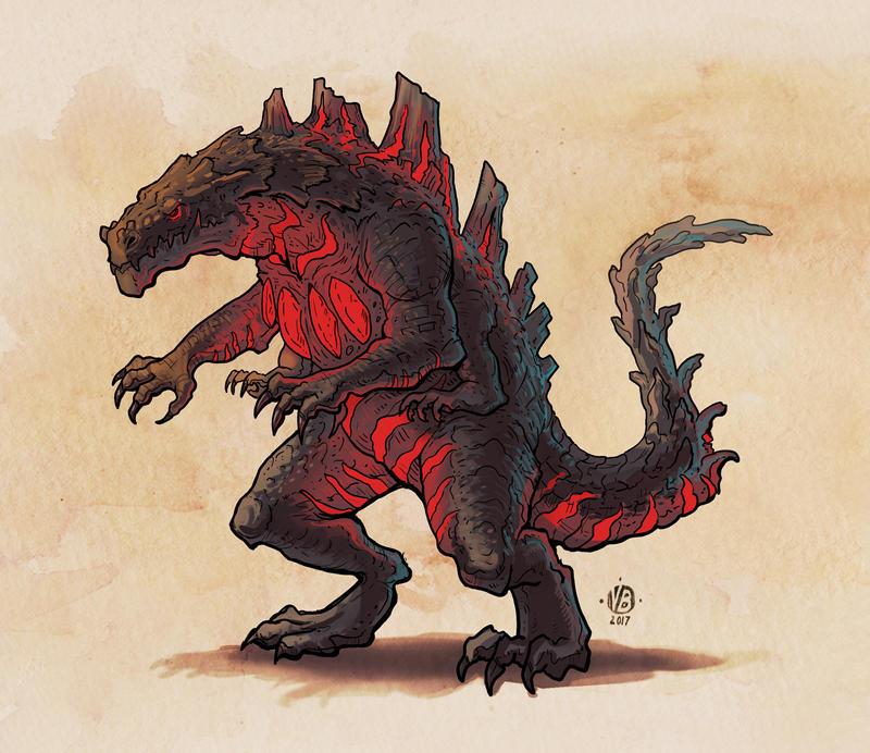 Kaiju Design by Nimphradora