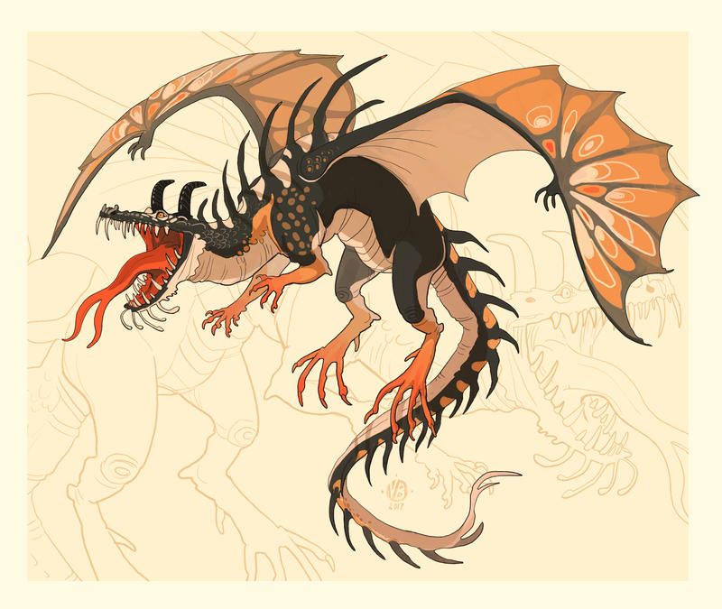 15.12 dragon by Nimphradora