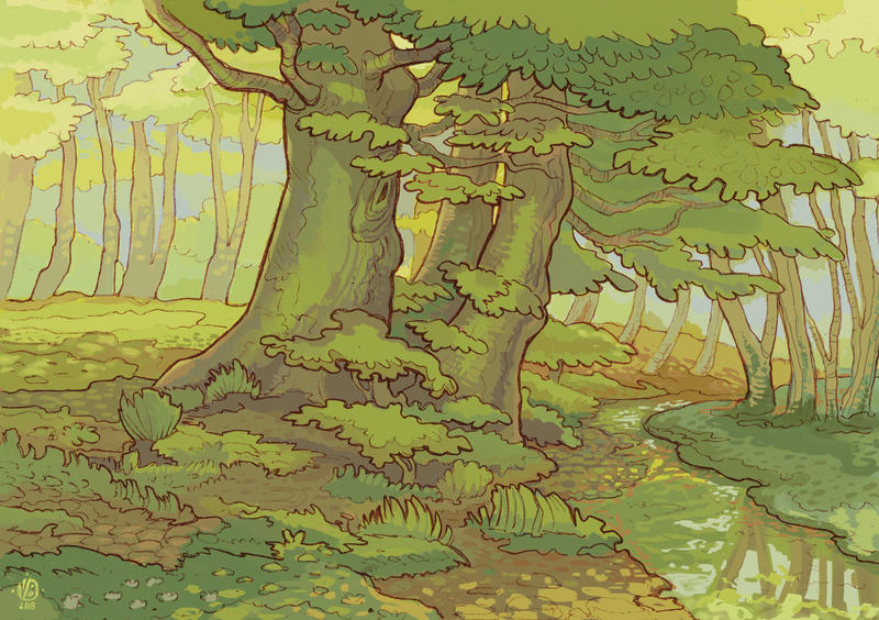 Forest II by Nimphradora