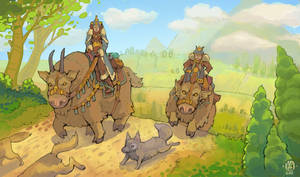 Travelling party