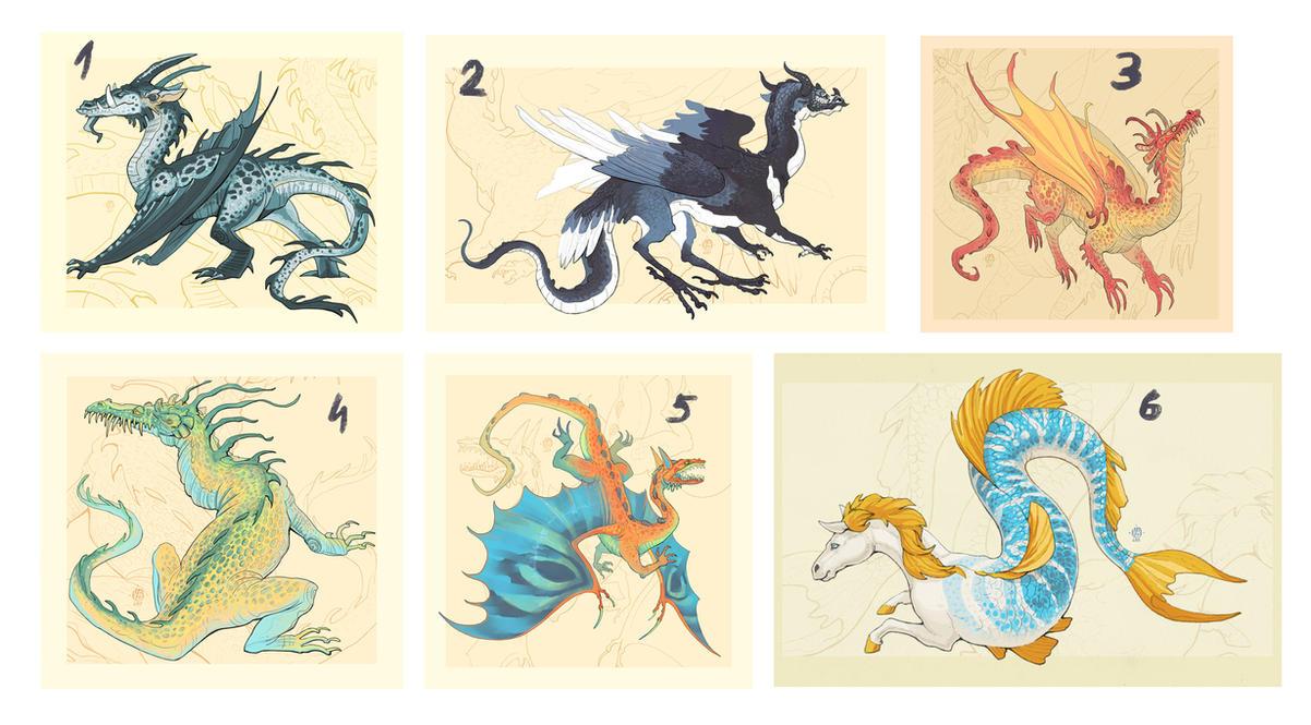 Dragon adopt auction CLOSED by Nimphradora