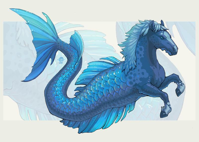 Hippocampus II by Nimphradora