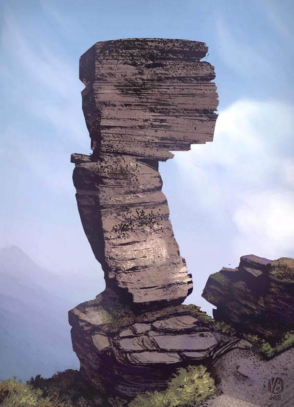 Rock study by Nimphradora