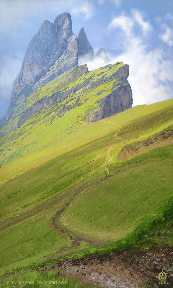 Mountain by Nimphradora