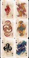 Draconic playing cards Kickstarter