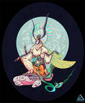 Dhamma Guardian Moth - Character Design Challenge