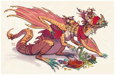 Mystic dragon by Nimphradora