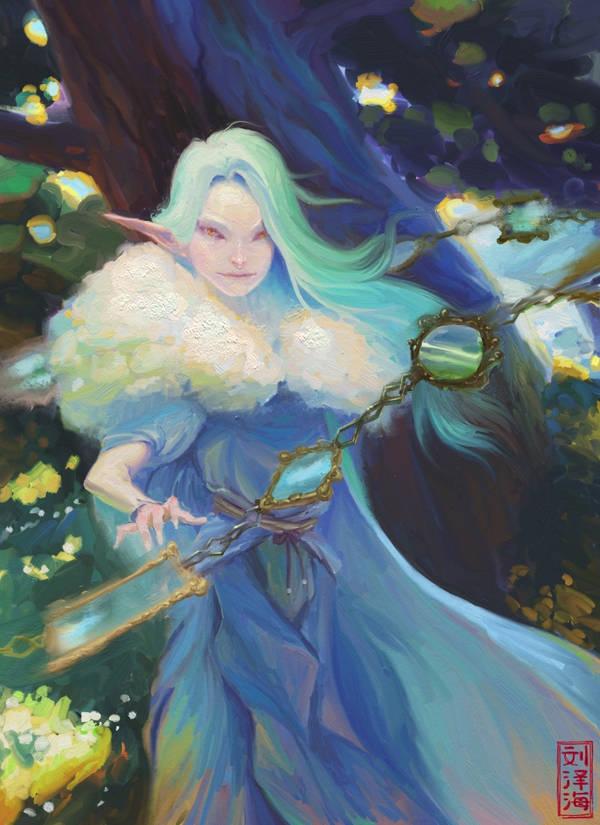 A Priestess Of The Open Hands by Nimphradora
