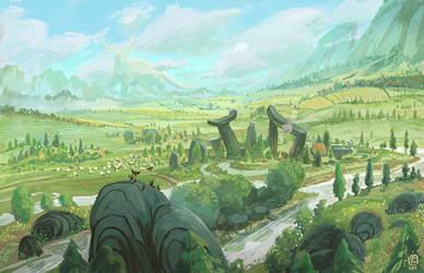 Quiet place by Nimphradora