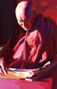 Old Monk - Digital Oil Study