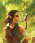 Naither - Elvish Rogue