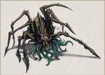 Demonic spider by Nimphradora