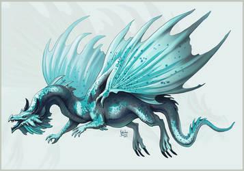 Dragon for Chrissi1997 by Nimphradora