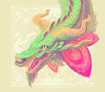 Orchid dragon