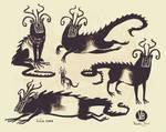 Mora creature design
