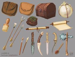 Items set 3