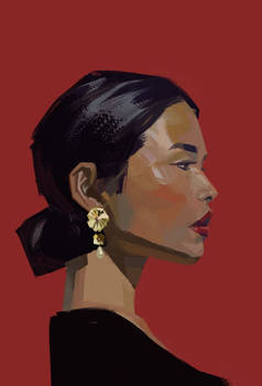 Daily portrait study/creation