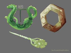 Jade relics