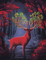 Red stag (reworked)