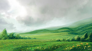 Meadow game background