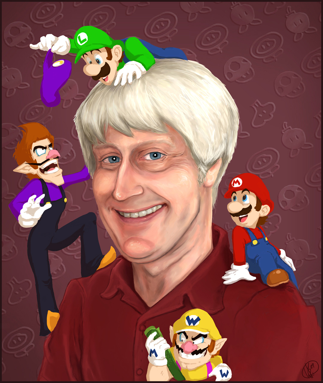 Charles Martinet Net Worth