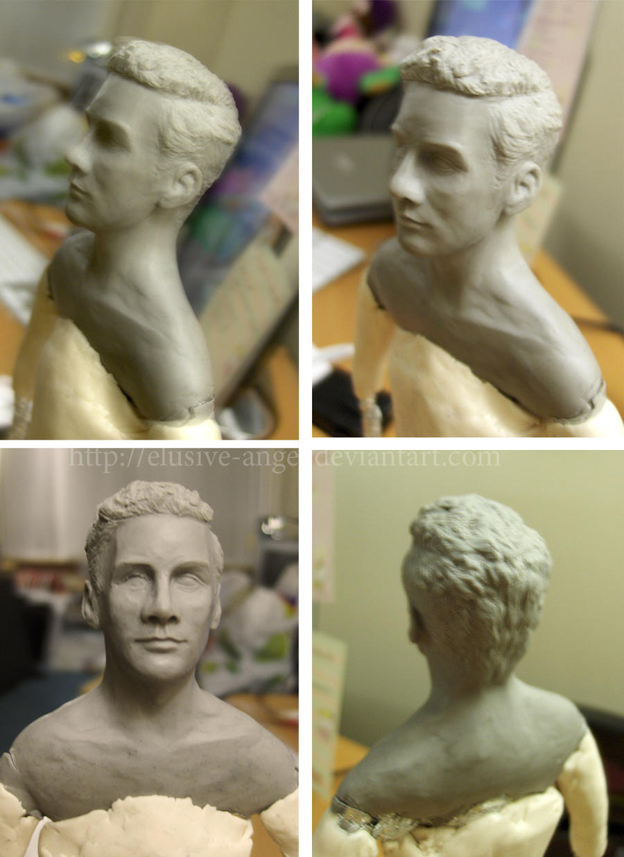 Sculpture: Rimmer WIP by Elusive-Angel