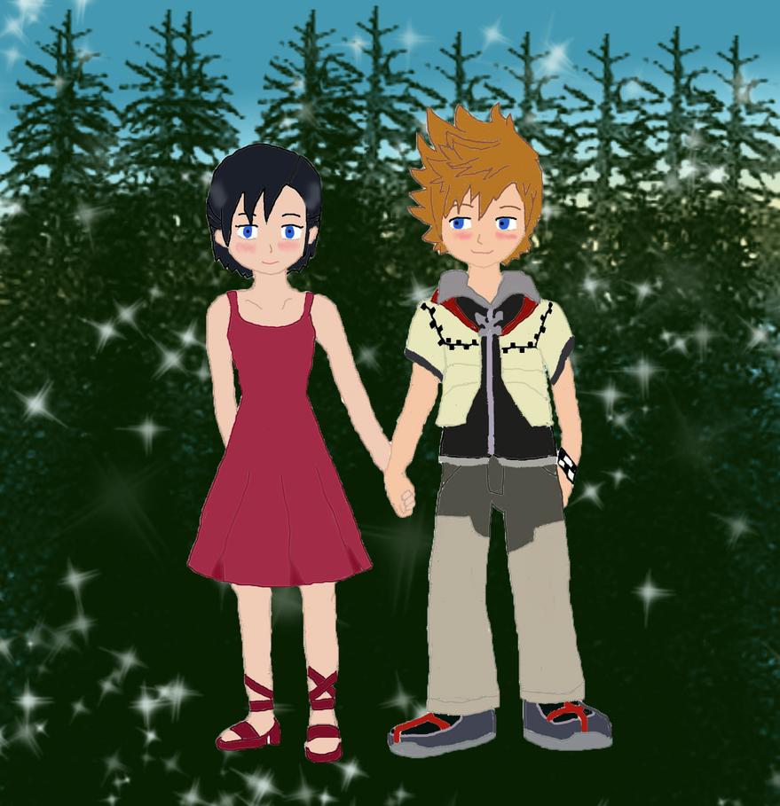 RokuShi Date by MrsZeldaLink