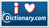Dictionary.com stamp by MrsZeldaLink